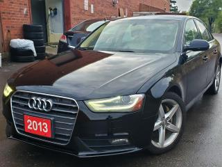 Used 2013 Audi A4 Prestige SALE ENDS SEP 27-2019 for sale in Scarborough, ON
