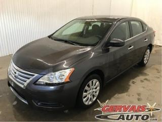 Used 2014 Nissan Sentra S A/c Bluetooth for sale in Shawinigan, QC