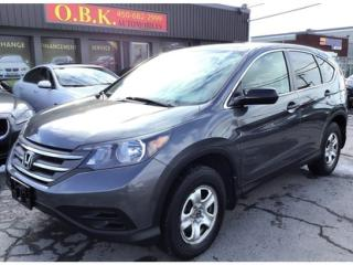 Used 2012 Honda CR-V Awd-Lx-Cam Recul-Gr for sale in Laval, QC