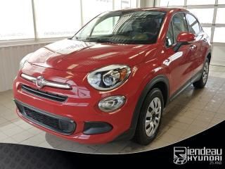Used 2016 Fiat 500 X Pop + Bluetooth for sale in Ste-Julie, QC