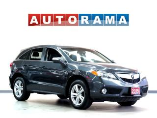 Used 2015 Acura RDX TECH PACKAGE NAVI LEATHER SUNROOF BACKUP CAM AWD for sale in Toronto, ON