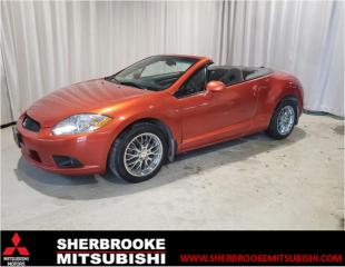 Used 2009 Mitsubishi Eclipse Spyder Spyder 2 portes, boîte AUTOMATIQUE, GS for sale in Sherbrooke, QC