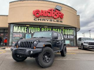 Used 2013 Jeep Wrangler Sahara UNLIMITED+MOAB EDT+LIFT KIT & OFF ROAD PKG for sale in Toronto, ON