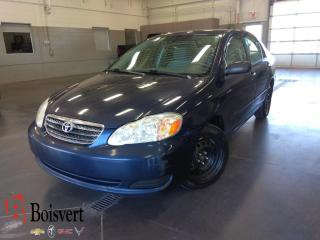 Used 2006 Toyota Corolla Ce/a/c/teledeverouil for sale in Blainville, QC