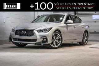 Used 2018 Infiniti Q50 3.0t Sport!! 359$ au 2 semaines !! for sale in Montréal, QC