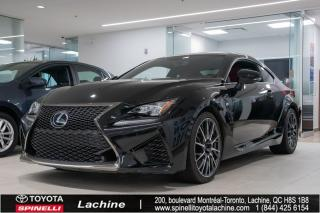Used 2015 Lexus RC F for sale in Lachine, QC