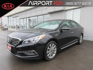 Used 2016 Hyundai Sonata Limited/leather/NAV/Sunroof/Camera for sale in Mississauga, ON