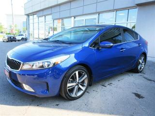 Used 2017 Kia Forte EX Luxury EX Luxury / Leather/ Sunroof/ Blind Spot /Camera for sale in Mississauga, ON