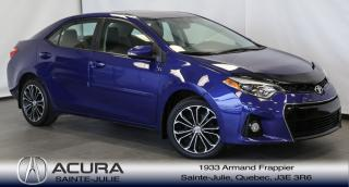 Used 2014 Toyota Corolla S for sale in Ste-Julie, QC