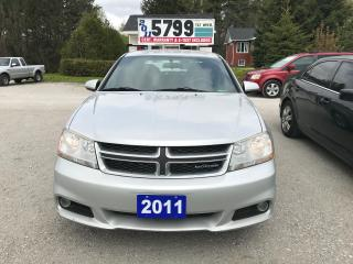 Used 2011 Dodge Avenger SXT for sale in Oro Medonte, ON
