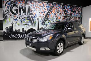 Used 2011 Subaru Outback 3.6R V6 w/Limited & Nav Pkg for sale in Concord, ON