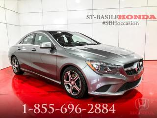 Used 2015 Mercedes-Benz CLA250 CLA 250 PREMIUM+ NAVI+ CAMERA+ WOW for sale in St-Basile-le-Grand, QC