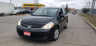 Used 2008 Nissan Versa Auto, 4 door, 3 Years Warranty available for sale in Toronto, ON