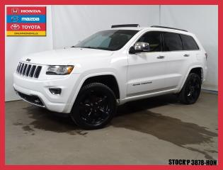 Used 2014 Jeep Grand Cherokee Overland for sale in Drummondville, QC