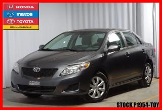 Used 2010 Toyota Corolla CE for sale in Drummondville, QC