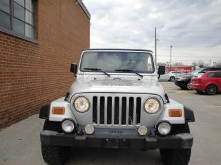 Used 2002 Jeep TJ Sport for sale in Oakville, ON