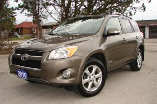 Used 2010 Toyota RAV4 LIMITED  for sale in Mississauga, ON