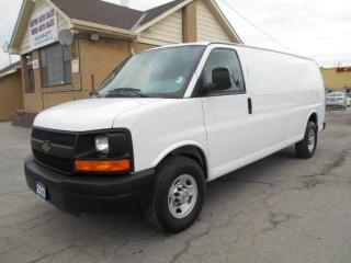 "2013 Chevrolet Express 2500 2500HD Extended Cargo Van 155""WB 4.8L V8 Certified"