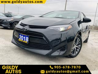 Used 2018 Toyota Corolla LE CVT for sale in Mississauga, ON