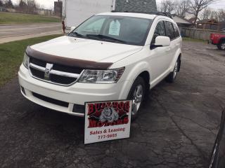 Used 2010 Dodge Journey SXT for sale in Glencoe, ON