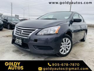 Used 2015 Nissan Sentra New tires   Power Windows   Keyless Entry   Cruise Control for sale in Mississauga, ON