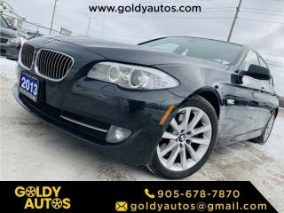Used 2013 BMW 5 Series for sale in Mississauga, ON