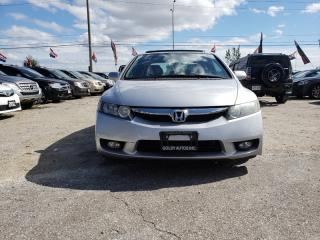 Used 2009 Honda Civic EXL |Leather Seats |Sunroof |Alloy Wheel for sale in Mississauga, ON