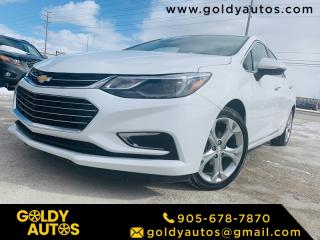 Used 2018 Chevrolet Cruze 4DR SDN 1.4L PREMIER W/1SF for sale in Mississauga, ON