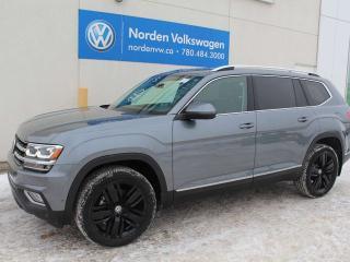 New 2019 Volkswagen Atlas EXECLINE for sale in Edmonton, AB