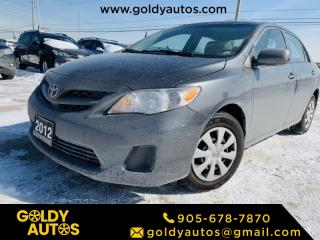 Used 2012 Toyota Corolla Power Windows & Doors | AUX | USB | for sale in Mississauga, ON