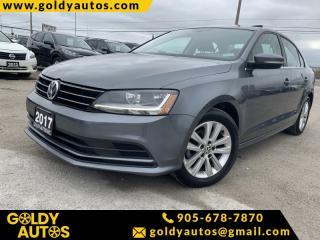 Used 2017 Volkswagen Jetta Sedan Power Locks | Sunroof | Alloy Wheels | Heated Seats for sale in Mississauga, ON
