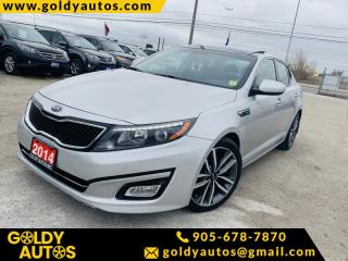 Used 2014 Kia Optima Sunroof | Power Windows | Keyless Entry | Navigation System for sale in Mississauga, ON