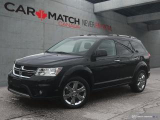 Used 2016 Dodge Journey R/T / NAV / AWD / 7 SEATER for sale in Cambridge, ON