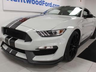 Used 2017 Ford Mustang SHELBY 6-SPD manual RWD, NAV, heated/cooled seats, back up cam for sale in Edmonton, AB