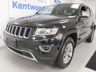 Used 2016 Jeep Grand Cherokee Limited 4WD with sunroof, heated power leather seats, heated steering wheel, power liftgate for sale in Edmonton, AB