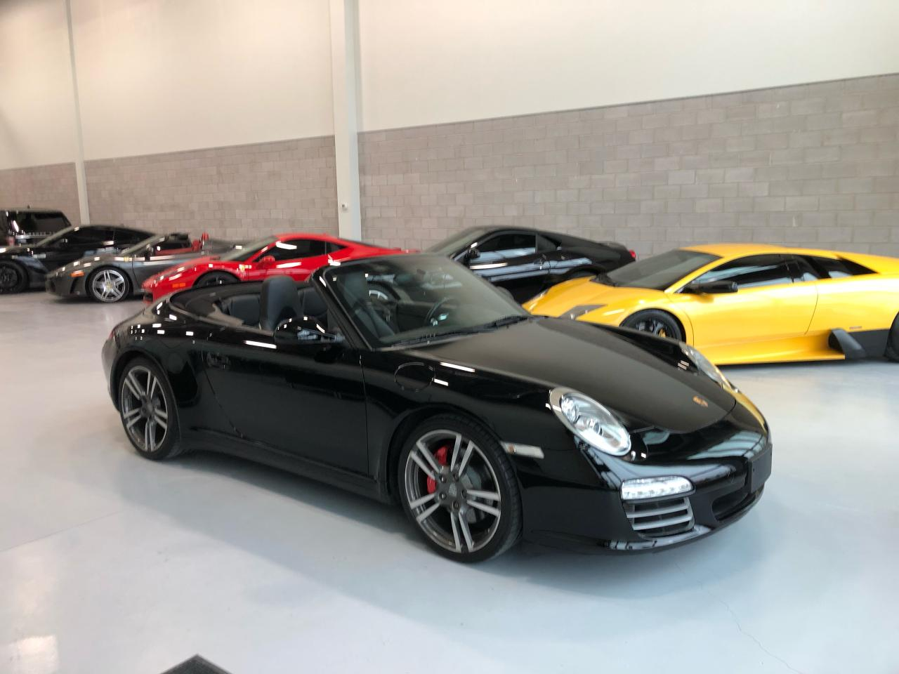 Photo of Black 2011 Porsche 911 Carrera C4S CABRIOLET