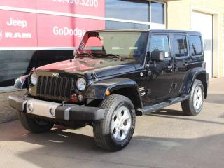 Used 2014 Jeep Wrangler Unlimited Sahara 4X4 for sale in Edmonton, AB