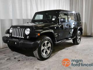Used 2018 Jeep Wrangler SAHARA | NAVIGATION | REMOTE START for sale in Red Deer, AB