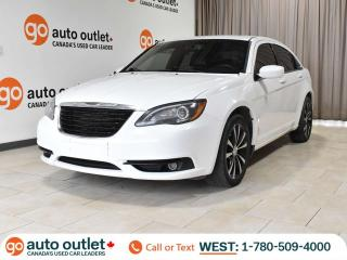 Used 2012 Chrysler 200 S Auto, Heated Leather Seats, Nav, Sunroof for sale in Edmonton, AB