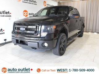 Used 2013 Ford F-150 FX4 4x4 SuperCrew, Leather Heated Seats, Navigation, Backup Camera, Ecoboost for sale in Edmonton, AB