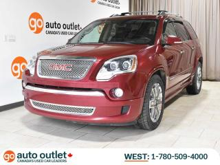 Used 2011 GMC Acadia Denali AWD, NAV, DVD, 7 Pass, Leather Heated Seats, Sunroof, Backup Camera for sale in Edmonton, AB