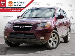 Used 2009 Hyundai Santa Fe Limited: 4X4 AWD LEATHER, LOW KMS! for sale in Edmonton, AB