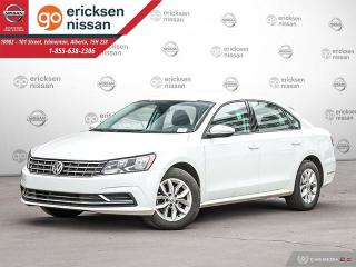 Used 2018 Volkswagen Passat Trendline+ : BACKUP CAMERA, BLUETOOTH, HEATED SEATS for sale in Edmonton, AB