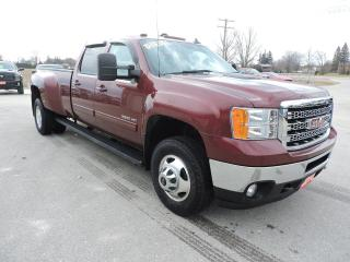 Used 2014 GMC Sierra 3500 SLT. Diesel. 4X4. Leather. New tires for sale in Gorrie, ON
