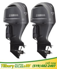 Used 1900 Yamaha F300 Two F300 Outboard Motors (demo). COUNTER ROTATION for sale in Tilbury, ON