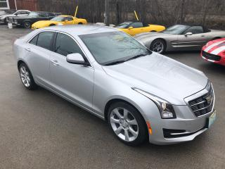 Used 2015 Cadillac ATS Standard RWD With Only 48400 km for sale in Perth, ON