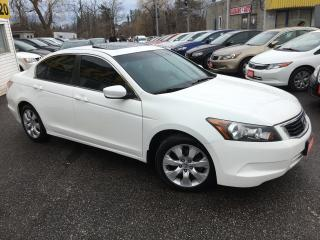 Used 2008 Honda Accord EX/ AUTO/ SUNROOF/ BLUETOOTH/ ALLOYS! for sale in Scarborough, ON