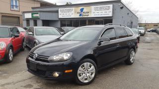Used 2012 Volkswagen Golf Wagon TDI COMFORTLINE for sale in Etobicoke, ON