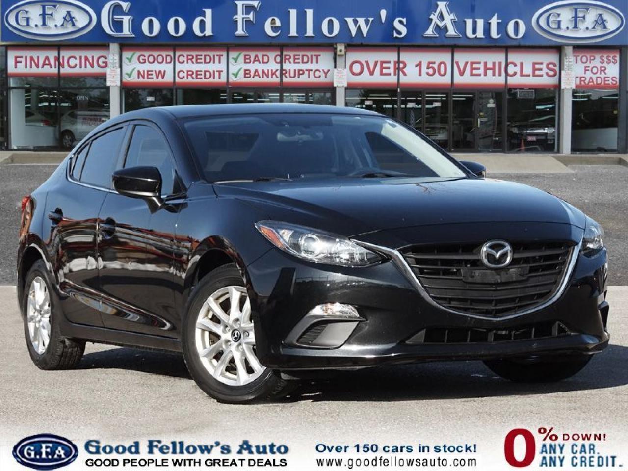 2015 Mazda MAZDA3 GS MODEL, SKYACTIV, REARVIEW CAMERA, HEATED SEATS