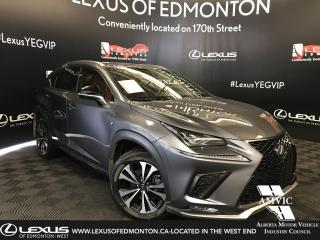 Used 2018 Lexus NX 300 F Sport Series 3 for sale in Edmonton, AB